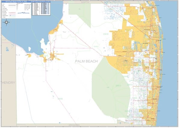 Palm Beach County ARES Map